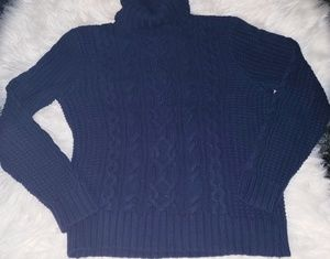 Polo Jean's co cable knit sweater
